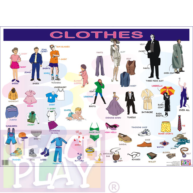 Clothes - Posters