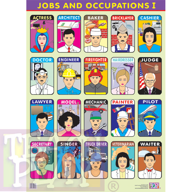Jobs and Occupations 1 - Posters